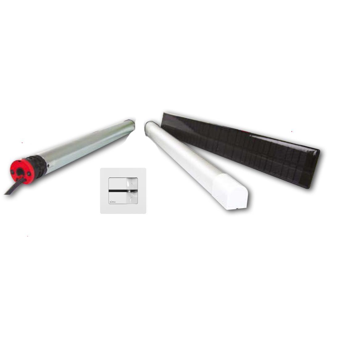 motorisation solaire pour volet roulant kit complet. Black Bedroom Furniture Sets. Home Design Ideas