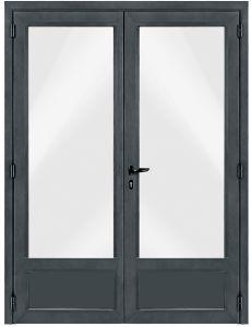 Porte fen tre pvc 2 ouvrants for Porte fenetre 2 vantaux pvc