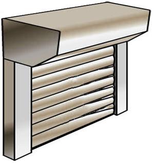 Quelles sont les tailles de coffres pour les volets for Taille porte de garage