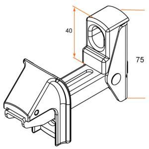 arr t automatique pour volet battant. Black Bedroom Furniture Sets. Home Design Ideas