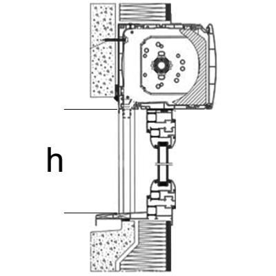 Volet roulant coffre pvc blanc alu volet int gr atouferm - Pose volet roulant electrique dans coffre ...