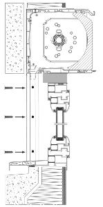 Le volet roulant int gr ou bloc baie atouferm - Pose volet roulant electrique dans coffre ...
