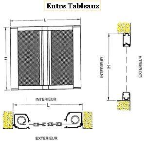 moustiquaire enroulable lat rale double coffre. Black Bedroom Furniture Sets. Home Design Ideas